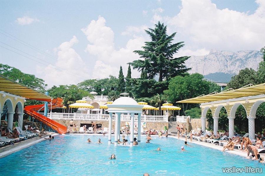 Парк отель «Марат», Гаспра