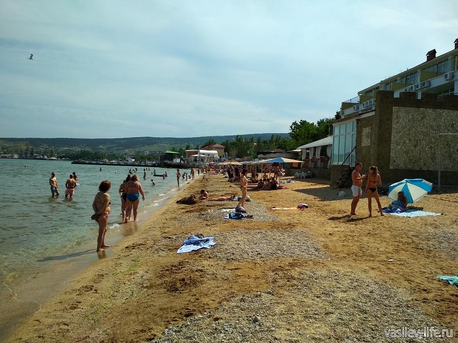Первый городской (Детский) пляж в Феодосии (2)