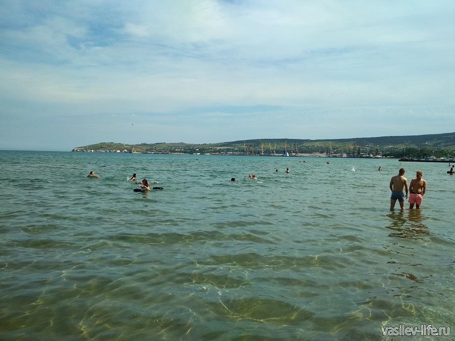Первый городской (Детский) пляж в Феодосии (3)