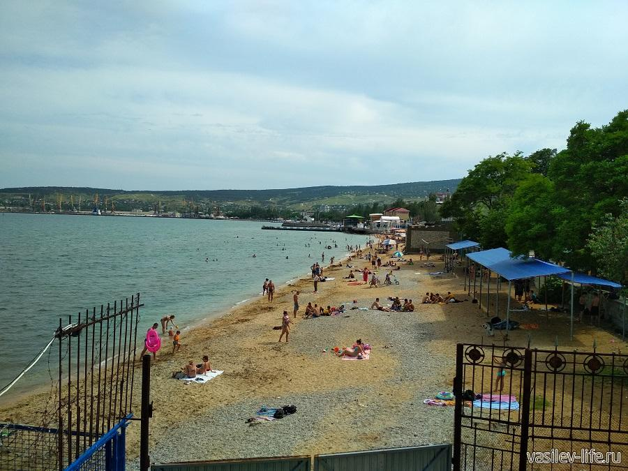 Первый городской (Детский) пляж в Феодосии (8)
