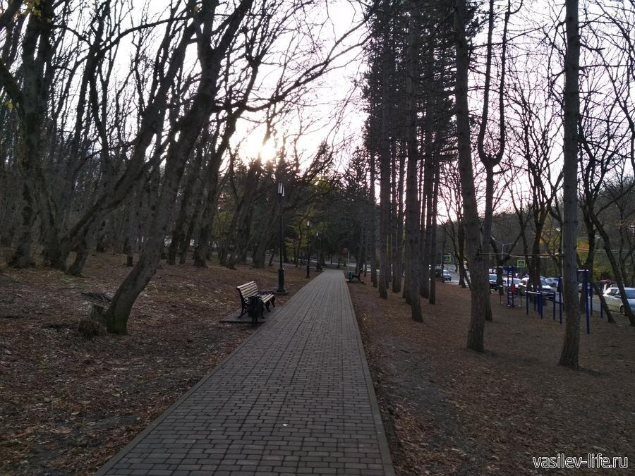 Пешеходные тропы (терренкуры) в Пятигорске