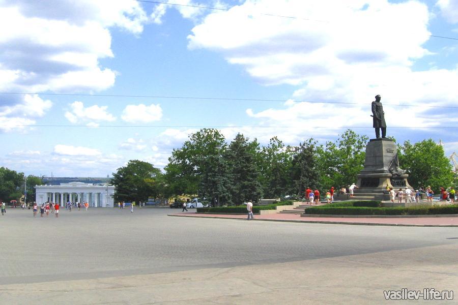 Площадь Нахимова, Севастополь