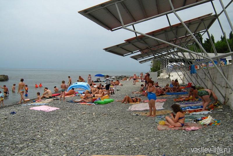 Пляжи Сатеры