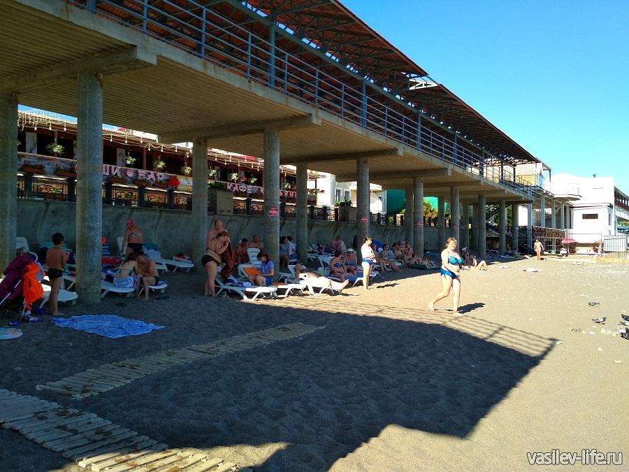 Пляжи в Судаке (2)
