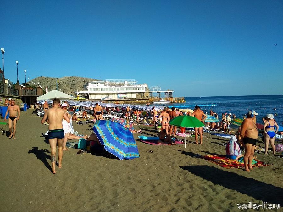 Пляжи в Судаке (24)