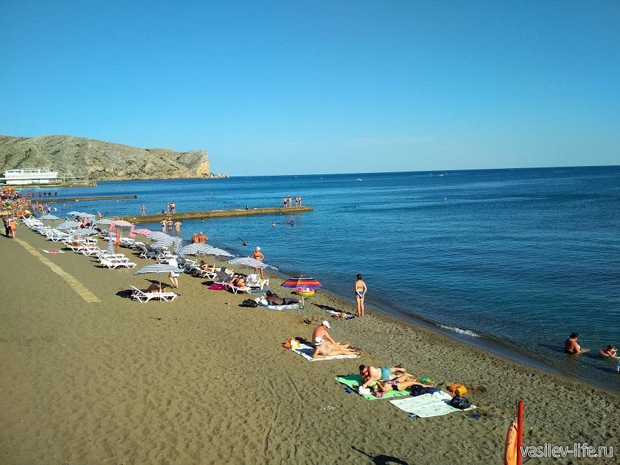 Пляжи в Судаке (9)