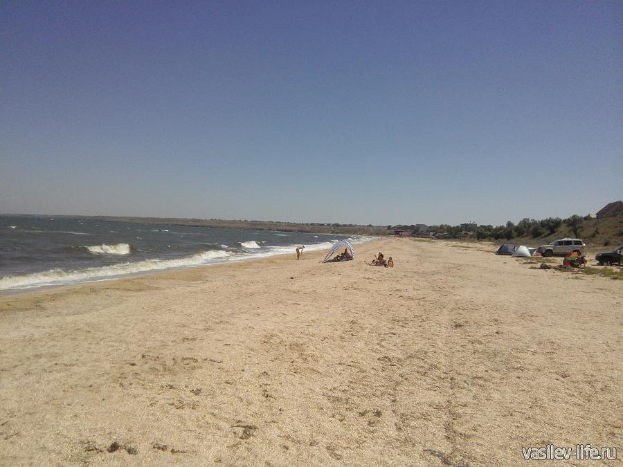 Пляжи на Арабатской стрелке