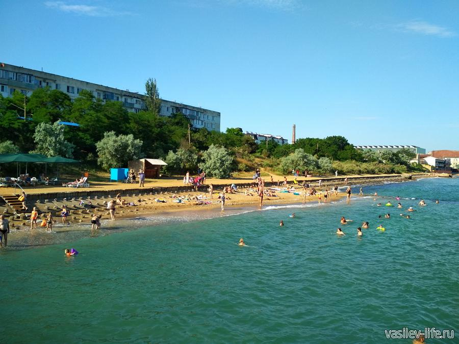 Пляжи поселка Приморский