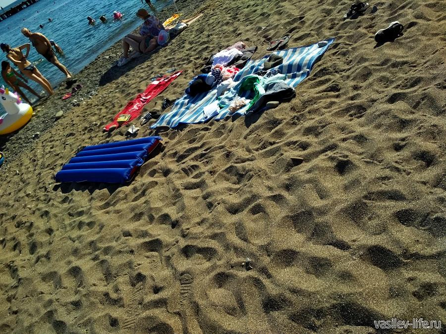 Пляж «Арзы» в Судаке (3)