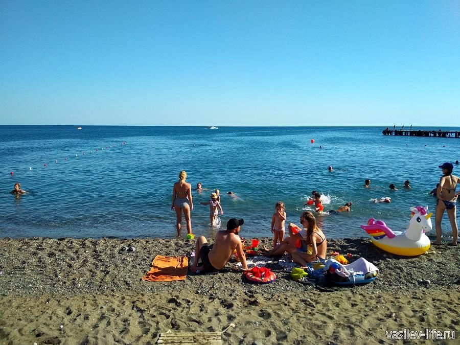 Пляж «Арзы» в Судаке (4)