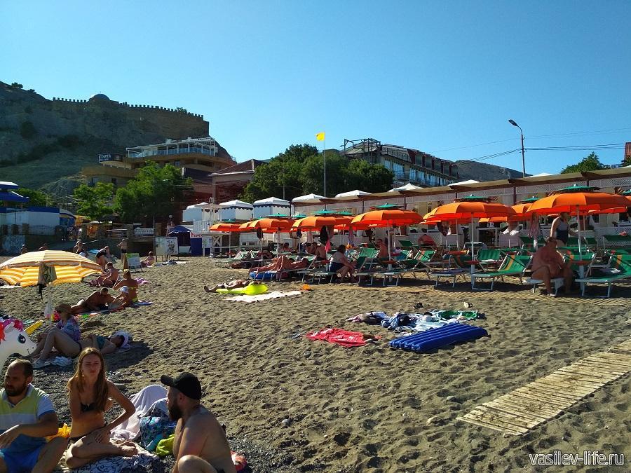 Пляж «Арзы» в Судаке (5)