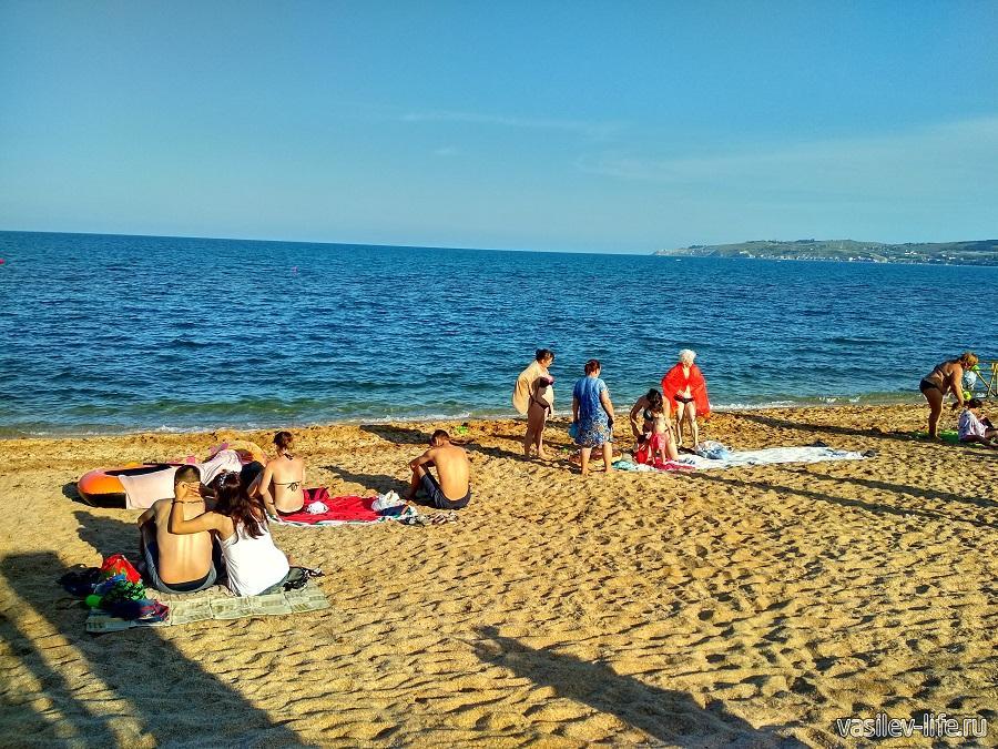 Пляж «Баунти» в Феодосии (13)