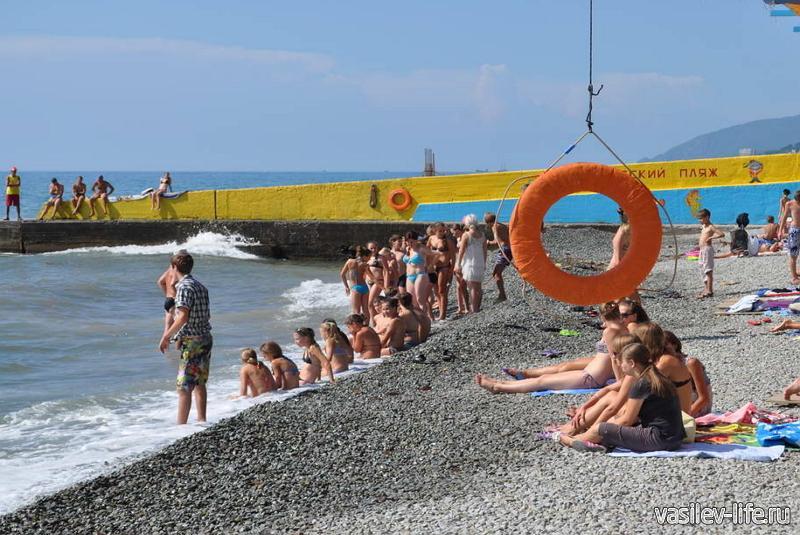 Пляж «Детский», Алушта