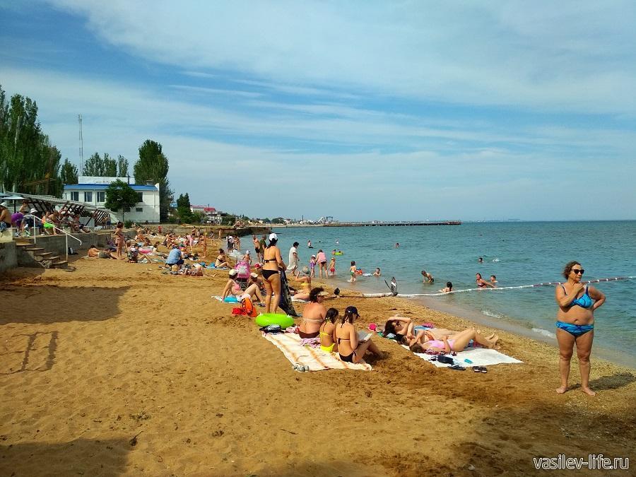 Пляж «Динамо» в Феодосии (5)