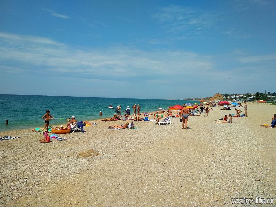 Пляж «Любимовка» в Севастополе (10)