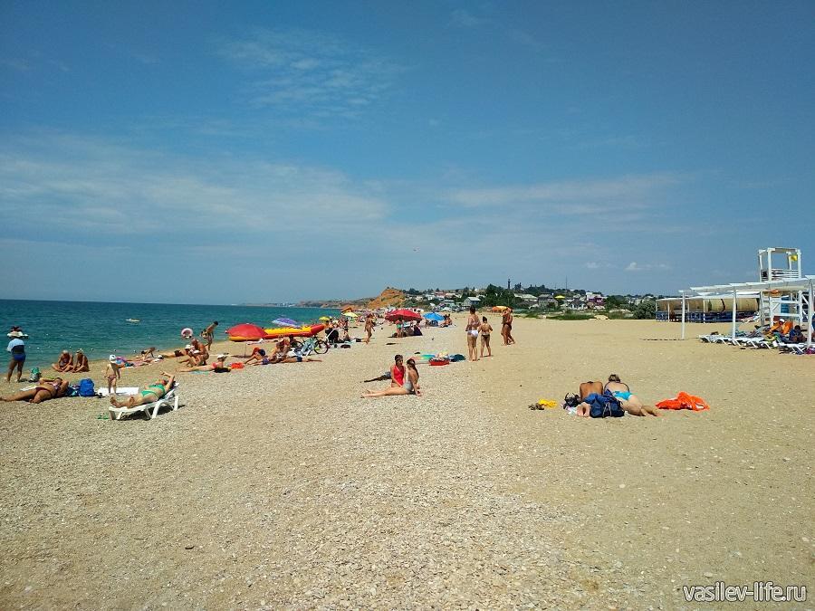 Пляж «Любимовка» в Севастополе (13)
