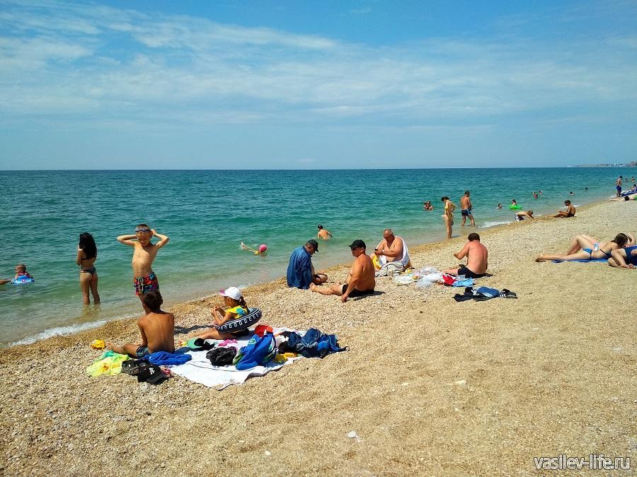 Пляж «Любимовка» в Севастополе (14)