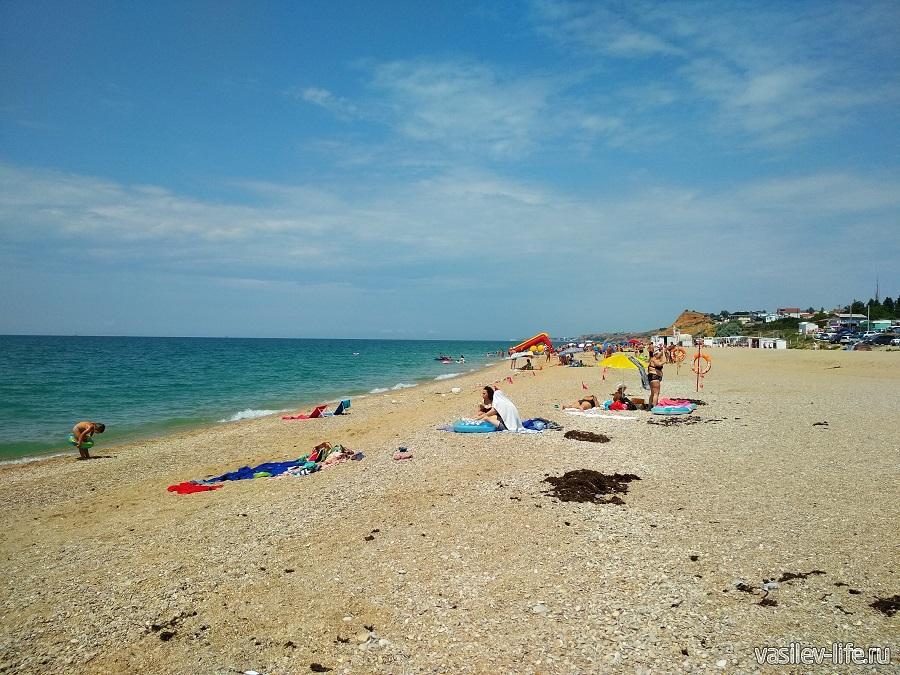 Пляж «Любимовка» в Севастополе (2)