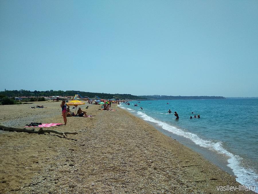 Пляж «Любимовка» в Севастополе (3)