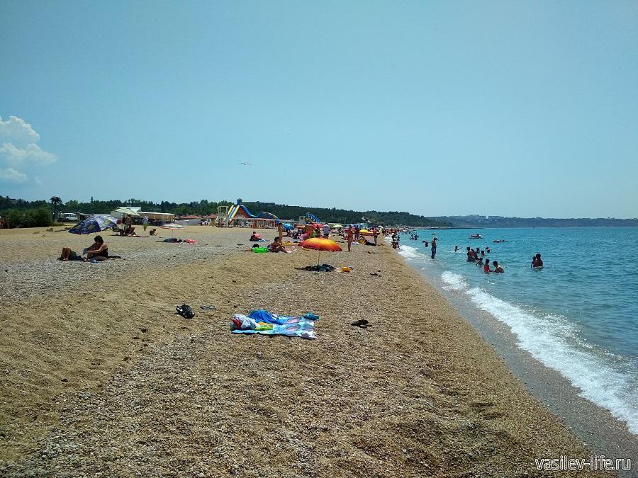 Пляж «Любимовка» в Севастополе (4)