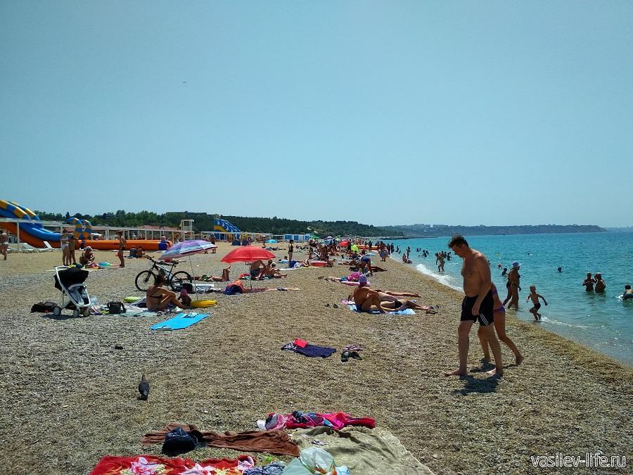 Пляж «Любимовка» в Севастополе