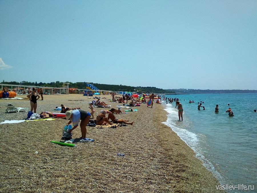 Пляж «Любимовка» в Севастополе (7)