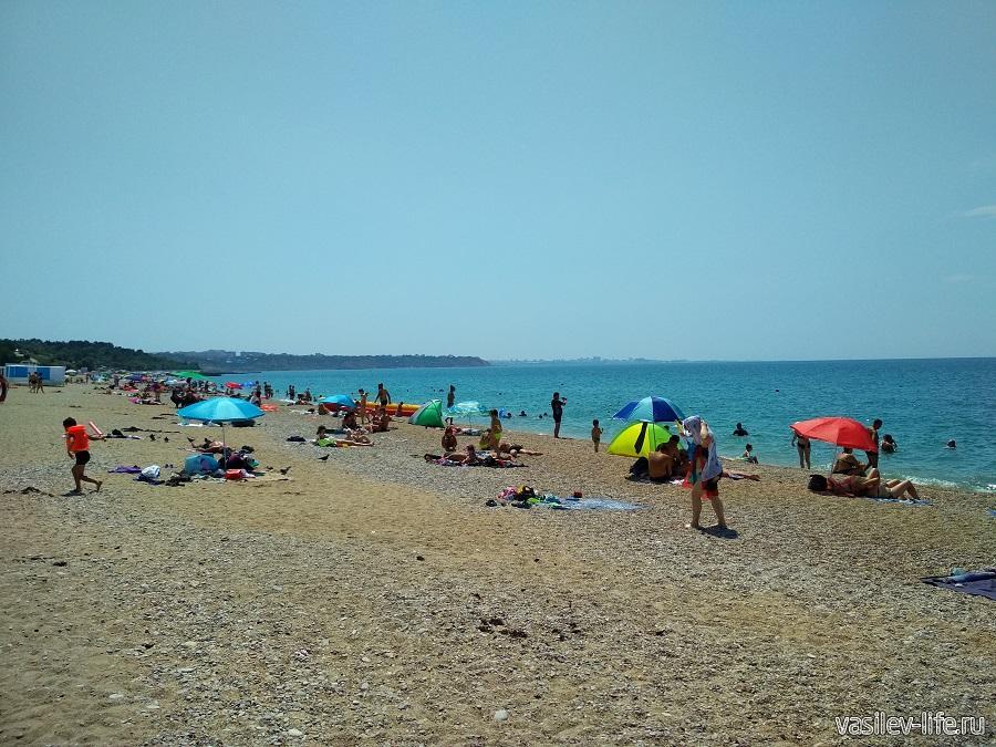 Пляж «Любимовка» в Севастополе (9)