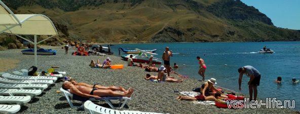 Пляж «Меганом» (рядом с Судаком) (10)