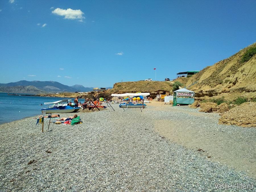 Пляж «Меганом» (рядом с Судаком) (12)
