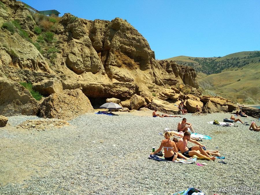 Пляж «Меганом» (рядом с Судаком) (13)