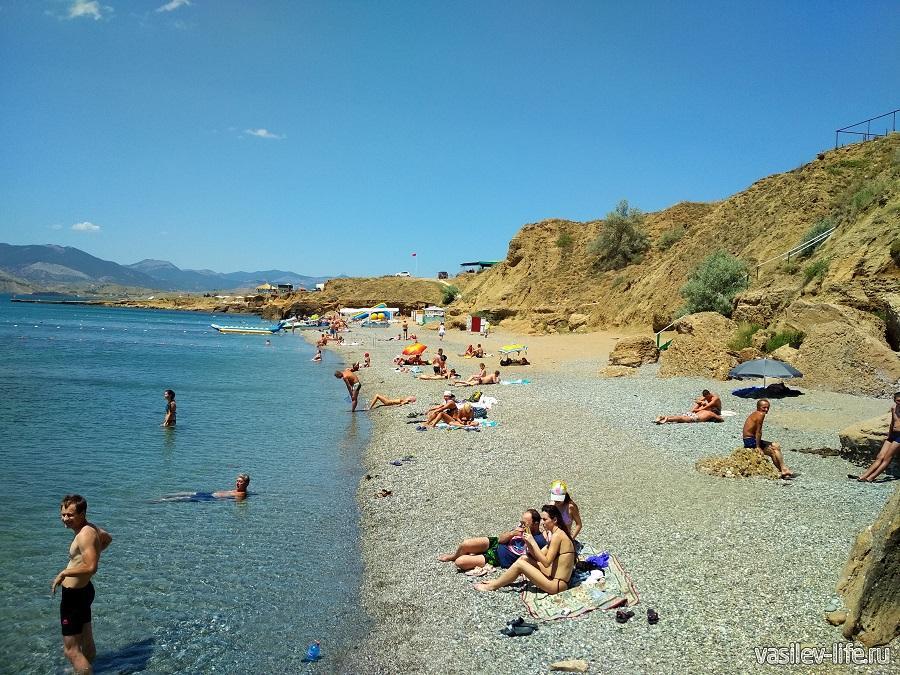 Пляж «Меганом» (рядом с Судаком) (16)