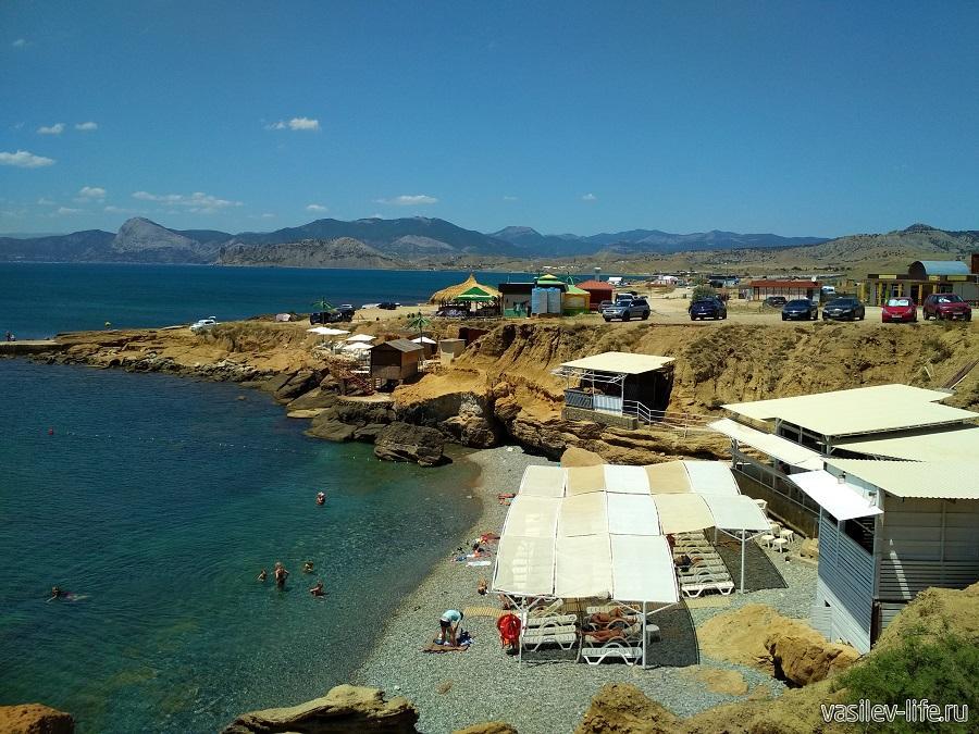 Пляж «Меганом» (рядом с Судаком) (5)