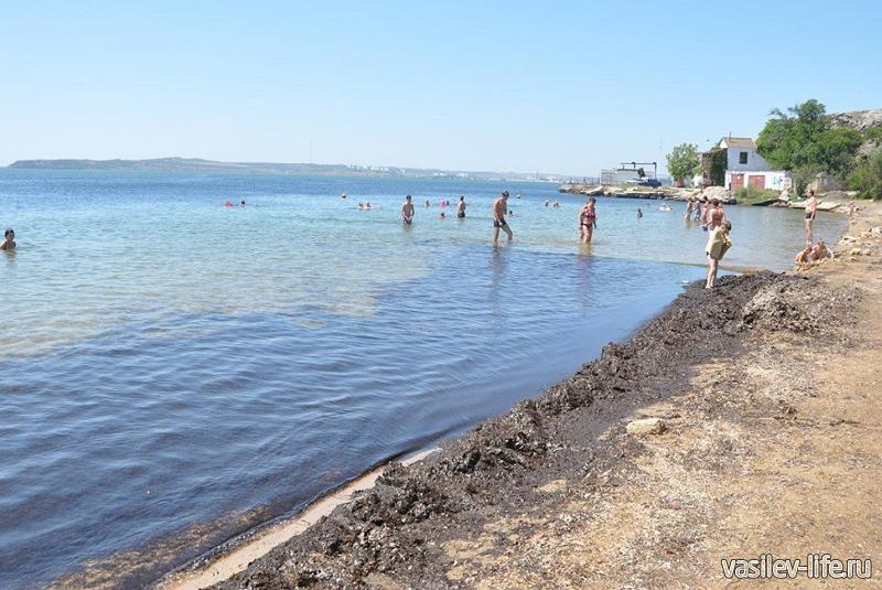 Пляж «Молодежный» в Керчи4