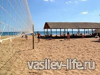Пляж «Оазис» в Евпатории