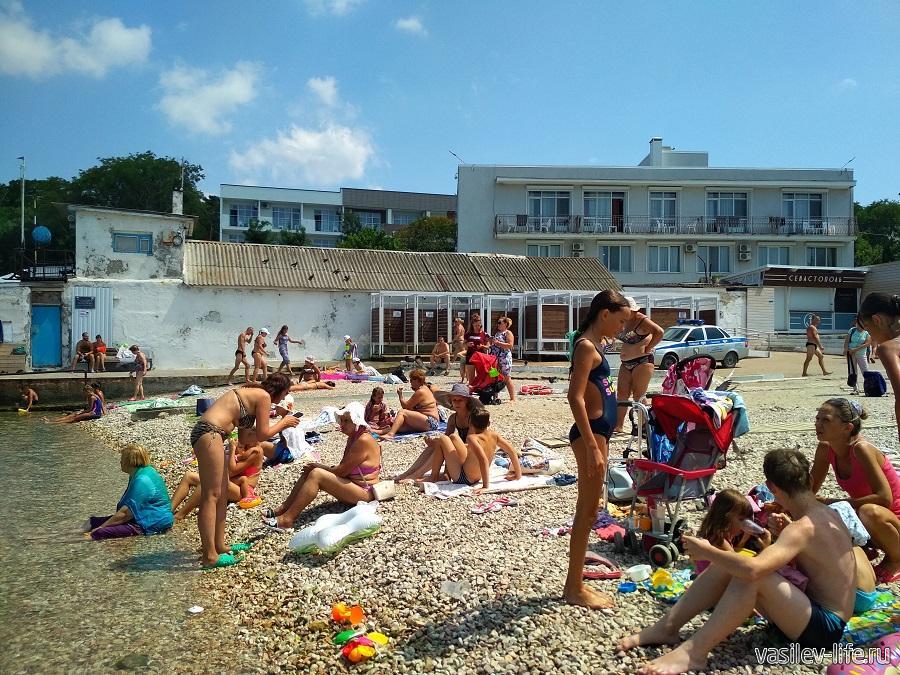Пляж «Песочный» в Севастополе (2)