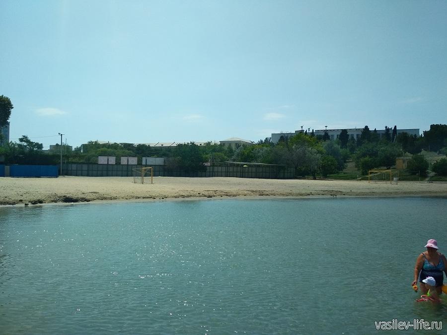 Нахимовский пляж (рядом)