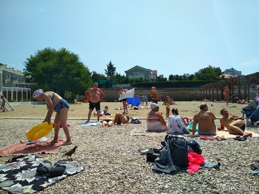 Пляж «Песочный» в Севастополе