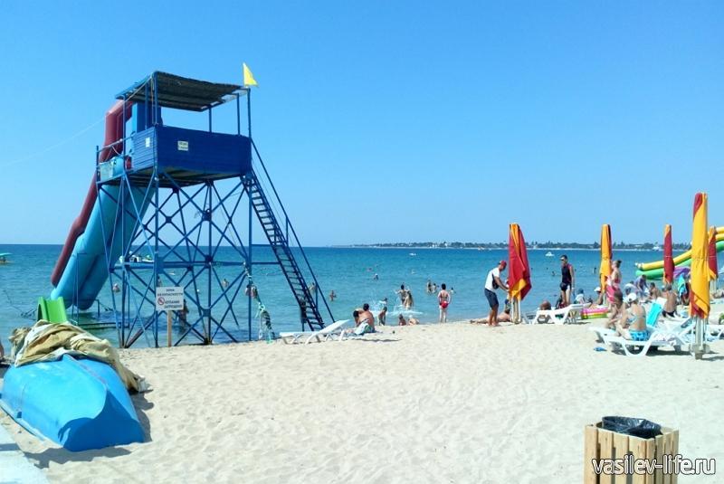 Пляж «Родничок», Евпатория