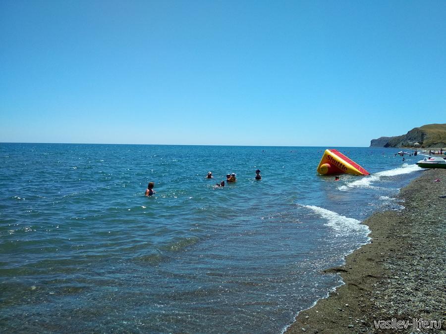 Пляж «Солнечная долина» (Прибрежное)