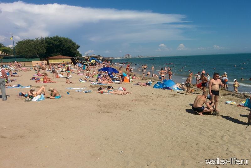 Пляж «Солярис», Евпатория