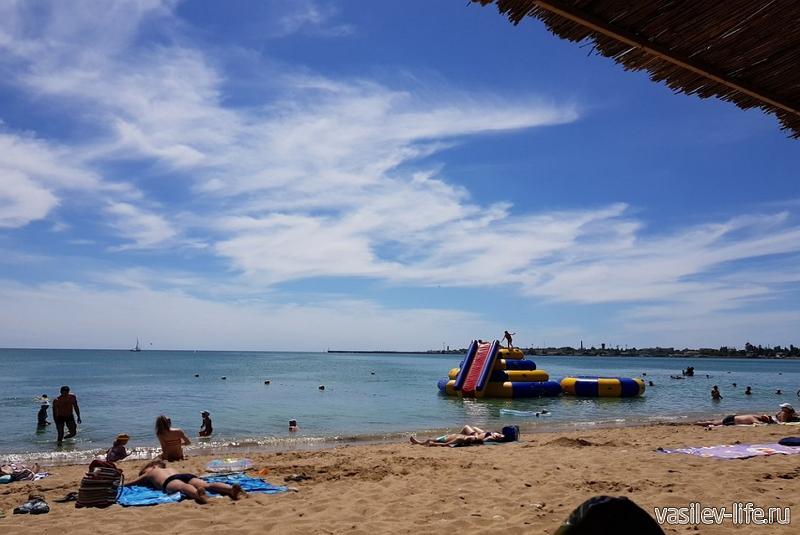 Пляж «Солярис», Евпатория 6