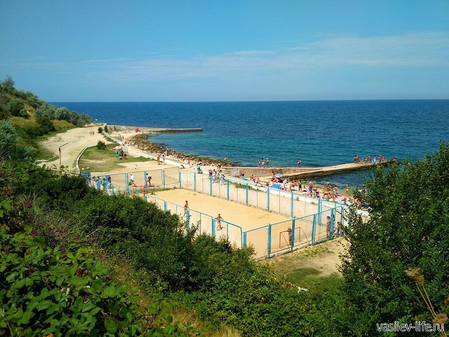 Пляж «Толстяк», Севастополь (2)
