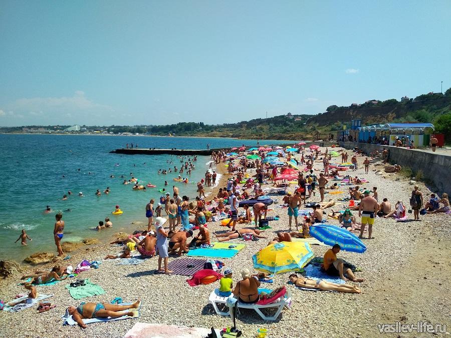 Пляж «Толстяк», Севастополь