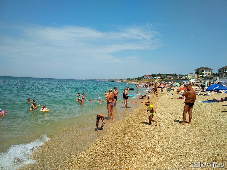 Пляж «Учкуевка» в Севастополе (10)
