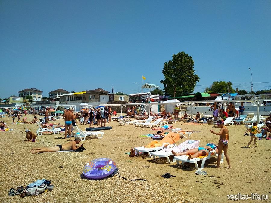 Пляж «Учкуевка» в Севастополе (11)