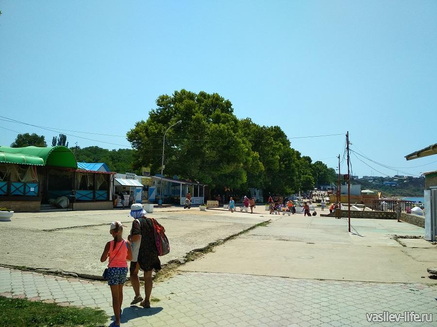 Пляж «Учкуевка» в Севастополе (20)
