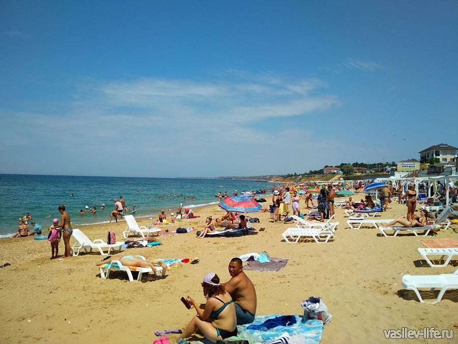 Пляж «Учкуевка» в Севастополе (3)