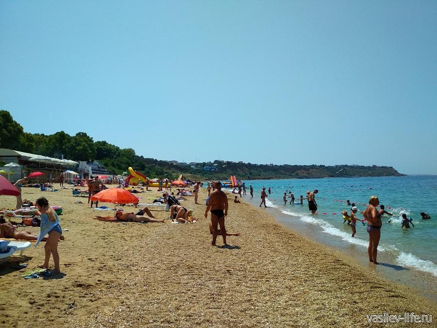 Пляж «Учкуевка» в Севастополе (4)