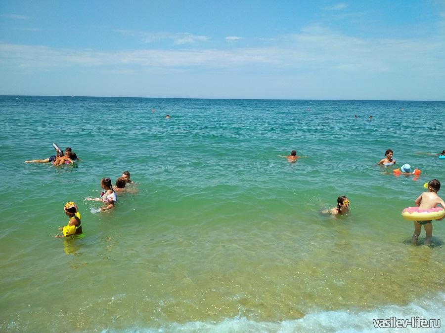 Пляж «Учкуевка» в Севастополе (5)
