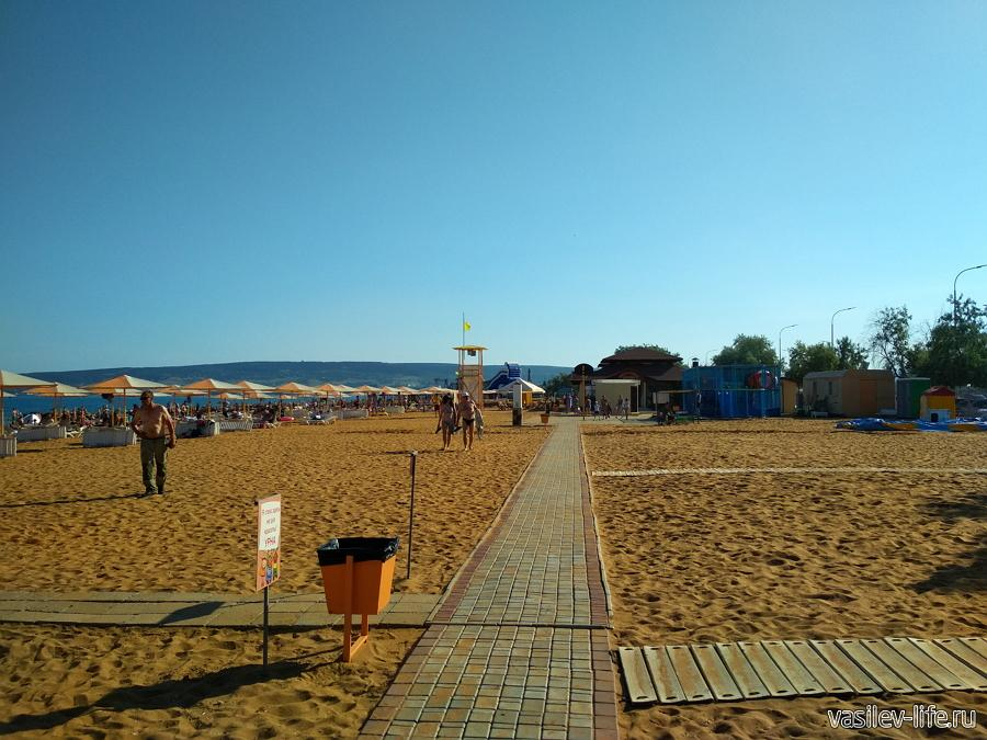 Пляж Алые паруса